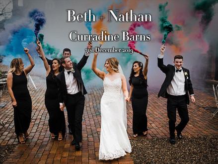 BETH + NATHAN @ CURRADINE BARNS