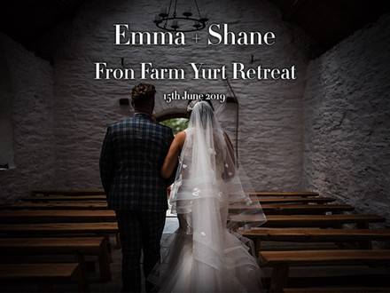 EMMA + SHANE @ FRON FARM YURTS