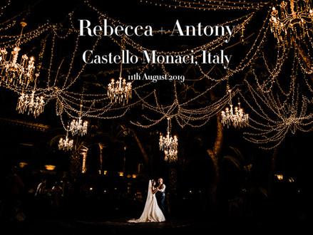 SAMANTHA + ANTHONY @ CASTELLO MONACI, ITALY