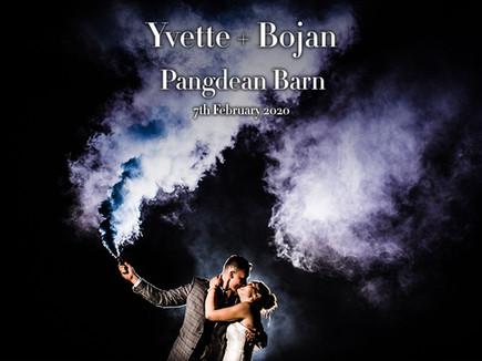 YVETTE + BOJAN @ PANGDEAN BARN