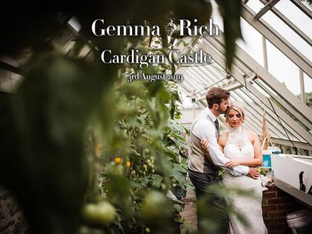 GEMMA + RICH @ CARDIGAN CASTLE
