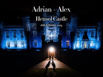 ADRIAN + ALEX @ HENSOL CASTLE
