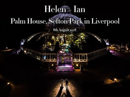 HELEN + IAN @ PALM HOUSE, SEFTON PARK IN LIVERPOOL