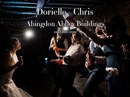 DORIELLE + CHRIS @ ABINGDON ABBEY BUILDINGS