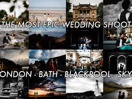 BRYAN + SU MAE'S EPIC WEDDING SHOOT