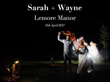 SARAH + WAYNE @ LEMORE MANOR