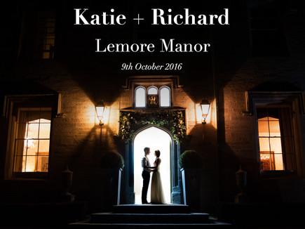 KATIE + RICHARD @ LEMORE MANOR