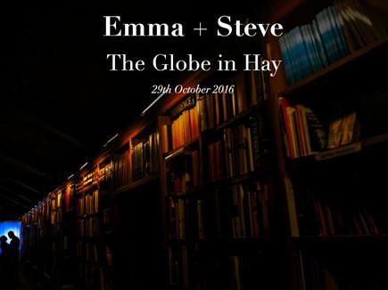 EMMA + STEVE @ THE GLOBE