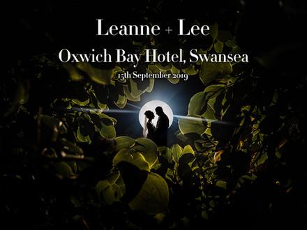 LEANNE + LEE @ OXWICH BAY HOTEL