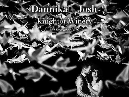 Dannika + Josh @ Knightor Winery