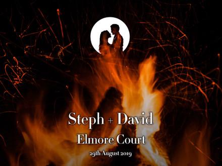 STEPH + DAVID @ ELMORE COURT