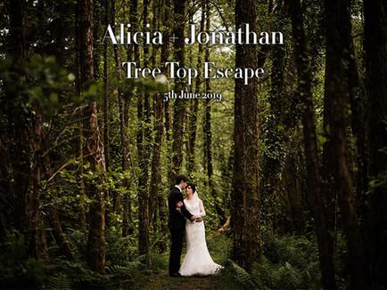 ALICIA + JONATHAN @ TREE TOP ESCAPE