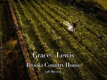 GRACE + LEWIS @ BROOKS COUNTRY HOUSE