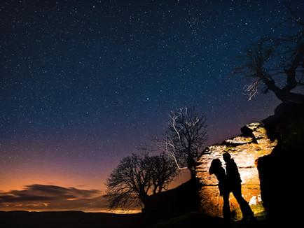 Natalie + Mike's Engagement Shoot in Wales' Dark Sky Reserve