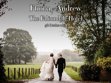 FFIONA + ANDREW @ THE FALCONDALE HOTEL