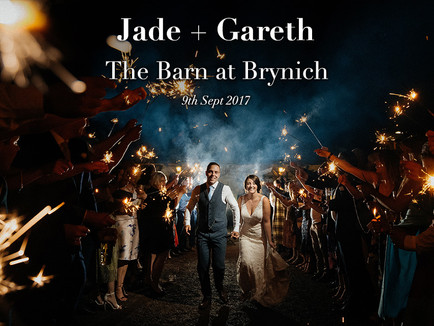 JADE + GARETH @ THE BARN AT BRYNICH