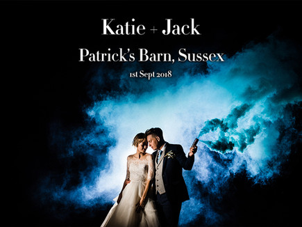 KATIE + JACK @ PATRICK'S BARN, SUSSEX