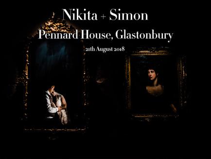NIKITA + SIMON @ PENNARD HOUSE, GLASTONBURY
