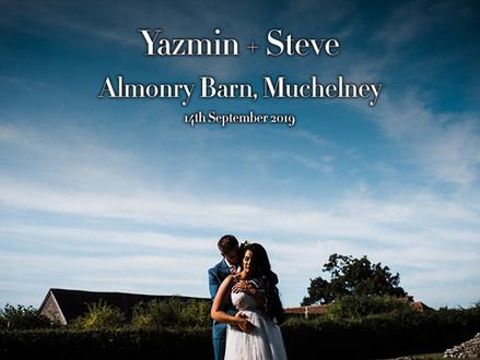YAZMIN + STEVE @ ALMONRY BARN, MUCHLENEY