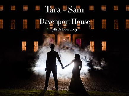 TARA + SAM @ DAVENPORT HOUSE