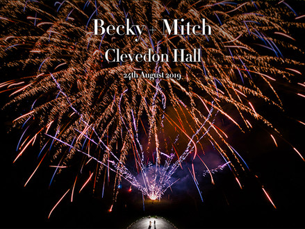 BECKY + MITCH @ CLEVEDON HALL