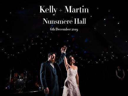KELLY + MARTIN @ NUNSMERE HALL