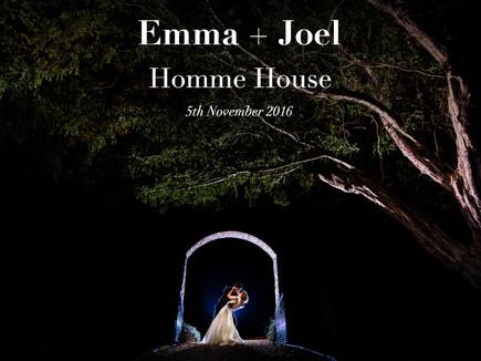 EMMA + JOEL @ HOMME HOUSE