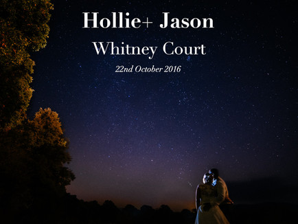 HOLLIE + JASON @ WHITNEY COURT