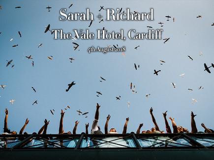 SARAH + RICHARD @ THE VALE HOTEL, CARDIFF