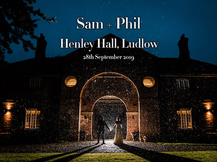SAM + PHIL @ HENLEY HALL, LUDLOW