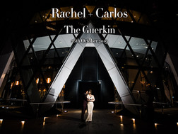 RACHEL + CARLOS @ THE GUERKIN (30 ST MARY AXE)