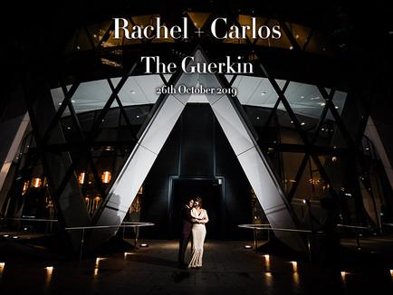 RACHEL + CARLOS @ THE GUERKIN (30 ST MARY AXE)