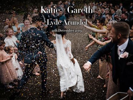 KATIE + GARETH @ LYDE ARUNDEL