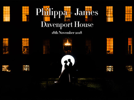 PHILIPPA + JAMES @ DAVENPORT HOUSE