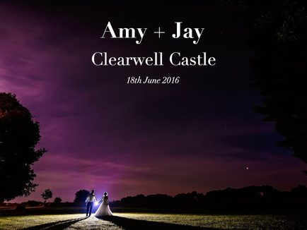 AMY + JAY @ CLEARWELL CASTLE