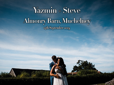 YAZMIN + STEVE @ THE ALMONRY BARN