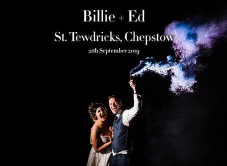 BILLIE + ED @ ST. TEWDRICS, CHEPSTOW