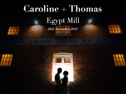 CAROLINE + THOMAS @ EGYPT MILL