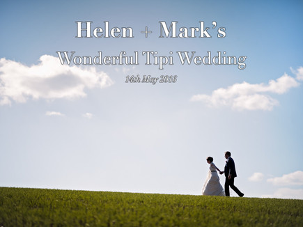 HELEN + MARK's Wonderful Tipi Wedding