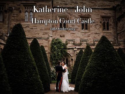 KATHERINE + JOHN @ HAMPTON COURT CASTLE