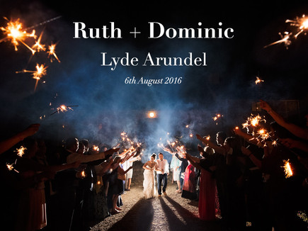 RUTH + DOMINIC @ LYDE ARUNDEL