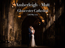 AMBERLEIGH +MATT @ GLOUCESTER CATHEDRAL