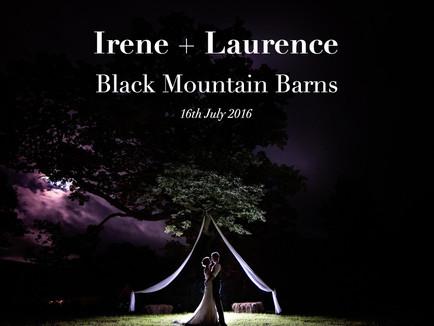 IRENE + LAURENCE @ BLACK MOUNTAIN BARNS
