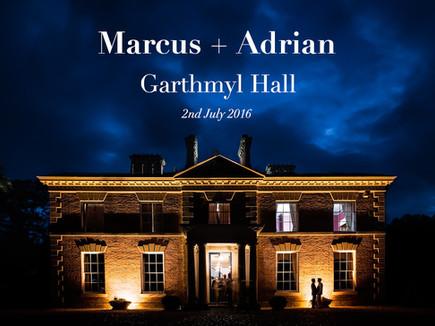 MARCUS + ADRIAN @ GARTHMYL HALL