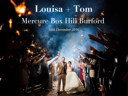 LOUISA + TOM @ MERCURE BOX HILL BURFORD