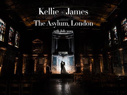 KELLIE + KAMES @ THE ASYLUM, PECKHAM