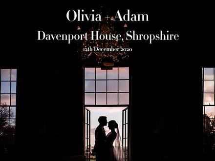 OLIVIA + ADAM @ DAVENPORT HOUSE
