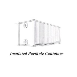 Insulated Porthole Container