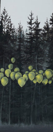 balloon forest (detail)
