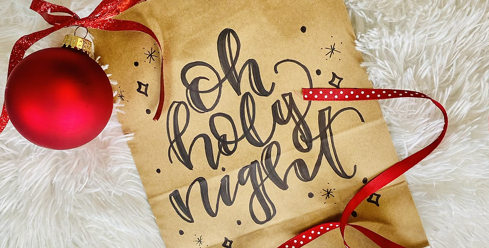 Oh Holy Night Gift Bag